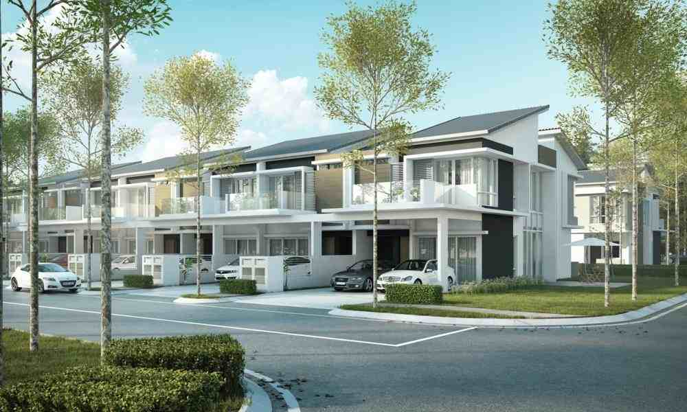 new development 2 storey terrace villas by country villas