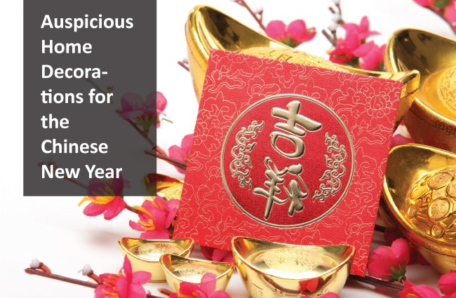 Auspicious home decorations for the chinese new year for Home decorations for new year
